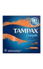 <b>Тампоны TAMPAX Compak</b> с аппликатором super plus | Watsons
