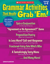 Grammar Activities That Really Grab      Em   Grades