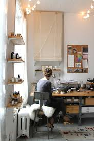 above in her lower manhattan studio briar winters owner of online apothecary marble milkweed enjoys the indirect natural light that comes from placing natural lighting home office