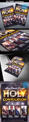 holy convocation church flyer template church flyer templates sample