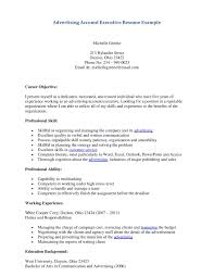 property s agent resume