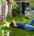 Gazon artificiel pour jardin