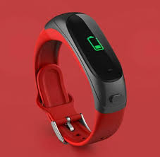 <b>V08s Color Screen Smart</b> Business Bracelet Bluetooth Headset Two ...