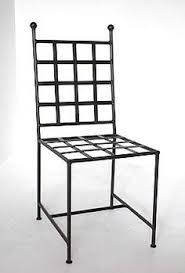 romano wrought iron chair for 105 each black wrought iron furniture