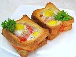 Картинки по запросу яйцо в хлебе