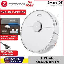 [ENG VERSION] Roborock S5 Max <b>s5max</b> Smart <b>Robot Vacuum</b> ...