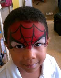 spiderman face paint love the eyes must try