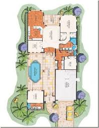Courtyard Style House Plans   Outdoors Kitchens Designs Spanish    Courtyard Home Floor Plan