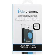 Blu Element - Tempered Glass <b>Screen Protector for</b> iPhone 8+/7+/6S ...
