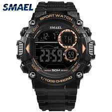 <b>SMAEL Watch Men Waterproof</b> LED Sports S Shock Resist Relogio ...