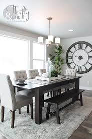 dining room decorating idea and model home tour charming pernk dining room