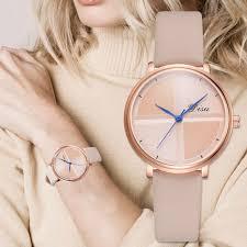 <b>Exquisite Simple Style Women</b> Leather Watches Fashion Quartz ...