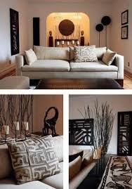 living room african decor graphic shapes nature inspired clean lines african inspired furniture