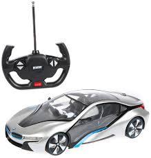 <b>Радиоуправляемая машина Rastar BMW</b> I8 1:14 световые эффекты