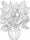 Раскраска букет роз