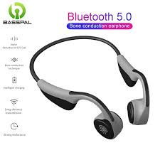 Basspal <b>V9</b> Headphones Bluetooth 5.0 <b>Bone</b> Conduction Headsets ...