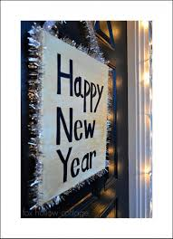 New Year Craft Ideas New Year S Eve Diy Decorating Ideas Fox Hollow Cottage