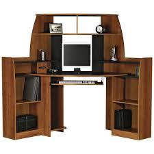 full size of desk attractive small corner desk with hutch wood construction brown finish black attractive office furniture corner desk