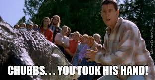 Happy Gilmore Alligator by thesingleshot - Meme Center via Relatably.com
