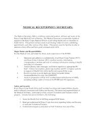 sample cover letter for secretary medical scheduler resume cover letter sample cover letter for secretary medical scheduler resume receptionist no experiencesecretary resume cover letter