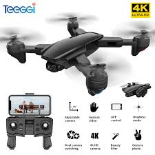 Teeggi <b>SG701 SG701S GPS</b> RC <b>Drone with</b> 5G WiFi FPV 4K HD ...