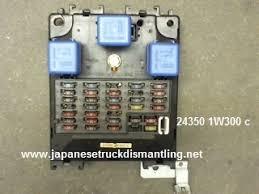 1987 nissan pathfinder fuse box 1987 wiring diagrams online