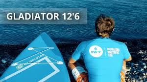 Тест САП <b>доски</b> GLADIATOR 12,6 на Черном море <b>SUP</b> surfing ...