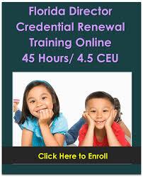 florida child care training online