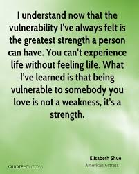elisabeth shue experience quotes quotehd i understand now that the vulnerability i ve always felt is the greatest strength a