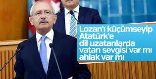 CHP grup toplantısında Kılıçdaroğlu'nun konuşması