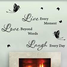 iron wall decor u love: live love laugh metal wall art makipera