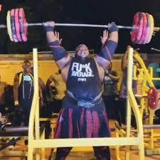 ironbiby <b>200kg</b>/<b>441lbs</b> x 8 Strict Press... - POWERLIFTING LEGENDS