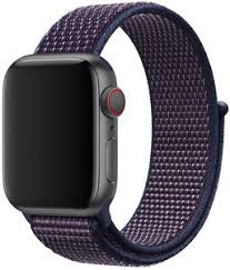 <b>Ремешок Apple</b> Sport <b>Nylon</b> Band для Watch 40 мм (темный индиго)