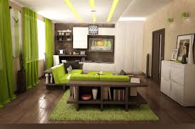green living room ideasbalanced design balanced living room