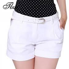 <b>Korean Style Women Cotton</b> Shorts Plus Size New Fashion Ladies ...