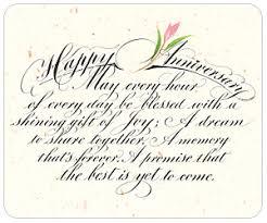 Wedding Anniversary Poems and Verses - Love Poems — Wedding ...