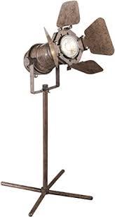 <b>Globo</b> Movie Table Lamp <b>Egon</b>, Brown: Amazon.co.uk: Lighting