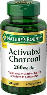 Nature's Bounty Activated Charcoal 260 mg, 100 ... - Amazon.com