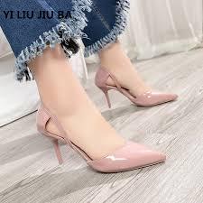 2019 <b>HOT sale fashion Women</b> Shoes Pointed Toe Pumps PU ...