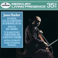János Starker: <b>Dvorák</b>: <b>Cello</b> Concerto / <b>Bruch</b>: Kol Nidrei ...