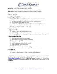 resume visual merchandiser resume photos of printable visual merchandiser resume full size