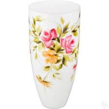 Купить <b>Ваза</b> для цветов <b>Glass Moon</b>, Роза Опал, Афина, 18*37 см ...