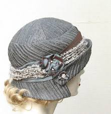 Women's Romantic Gatsby Cloche Hat 1920's Style Hat by BuyGail ...