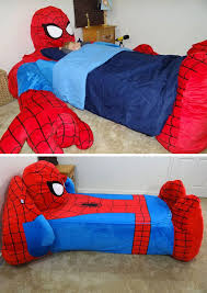 spiderman bed coverunfortunately they only make them in a twin and rowens charming boys bedroom furniture spiderman