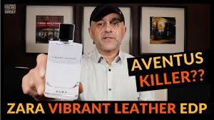 Zara Vibrant <b>Leather</b> Eau De Parfum Fragrance Review | AVENTUS ...