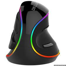 <b>Мышь DELUX KM-M618Plus</b> RGB, Мышь вертикальная, USB ...