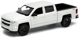 Купить <b>Welly Модель машины</b> 1:24 <b>Chevrolet</b> Silverado white в ...