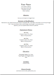 resume2 free traditional resume templates