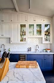 subway kitchen the green bungalow white kitchens subway tile two toned