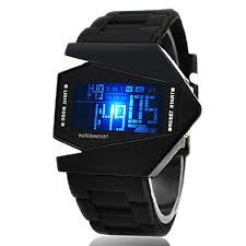 Men's Sport Watch Wrist Watch Digital Watch Digital Silicone Black ...